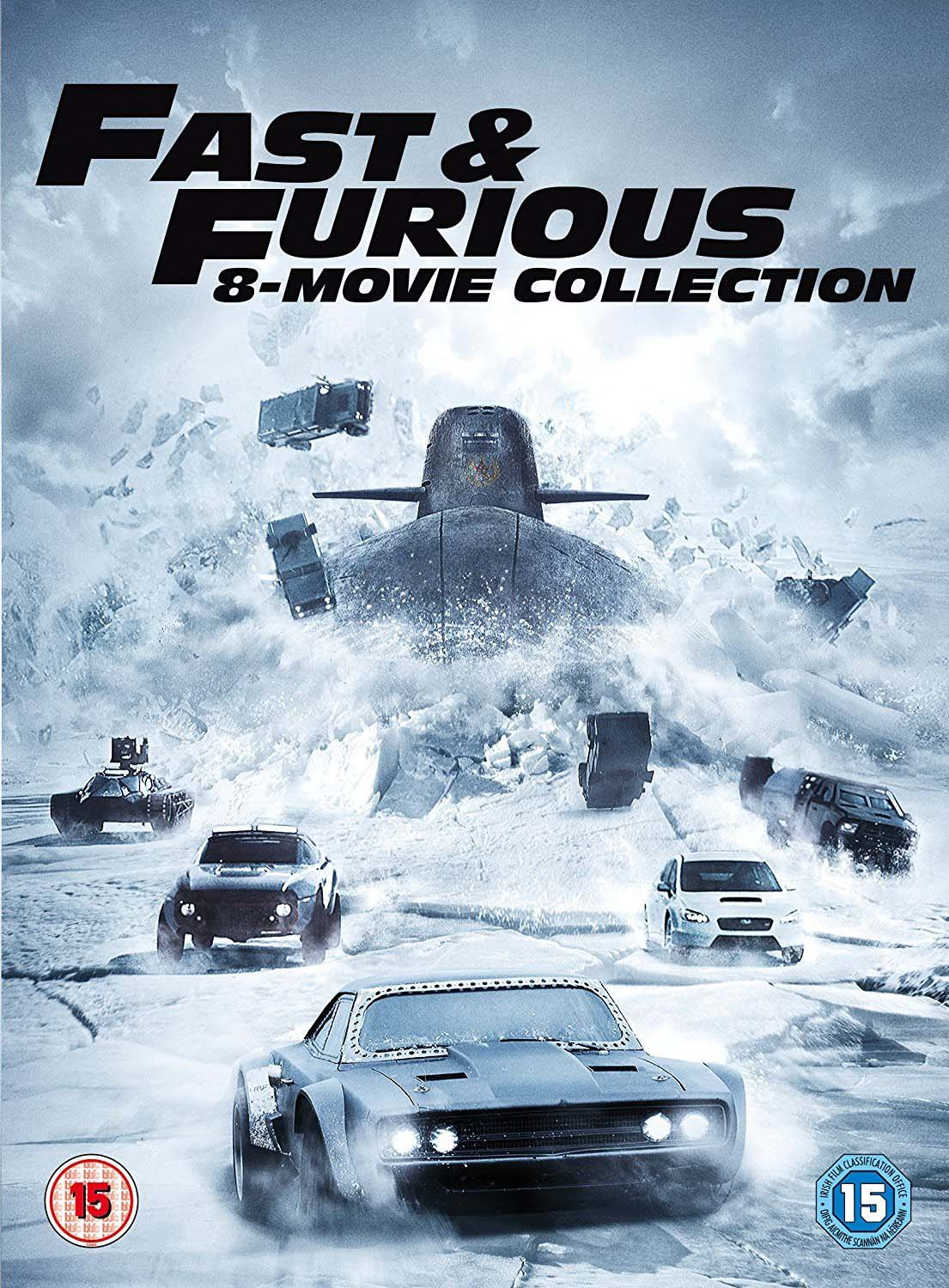 Fast & Furious Season 1-8 Boxset Dvd+Uv Edizione: Regno Unito Reino Unido: Amazon.es: Cine y Series TV