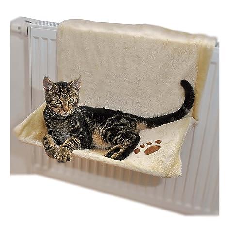 Ducomi Warmy - Cama Cálida para Gatos y Cachorros - Cama Colgable al Calentador con Suave y Cálida Manta ...
