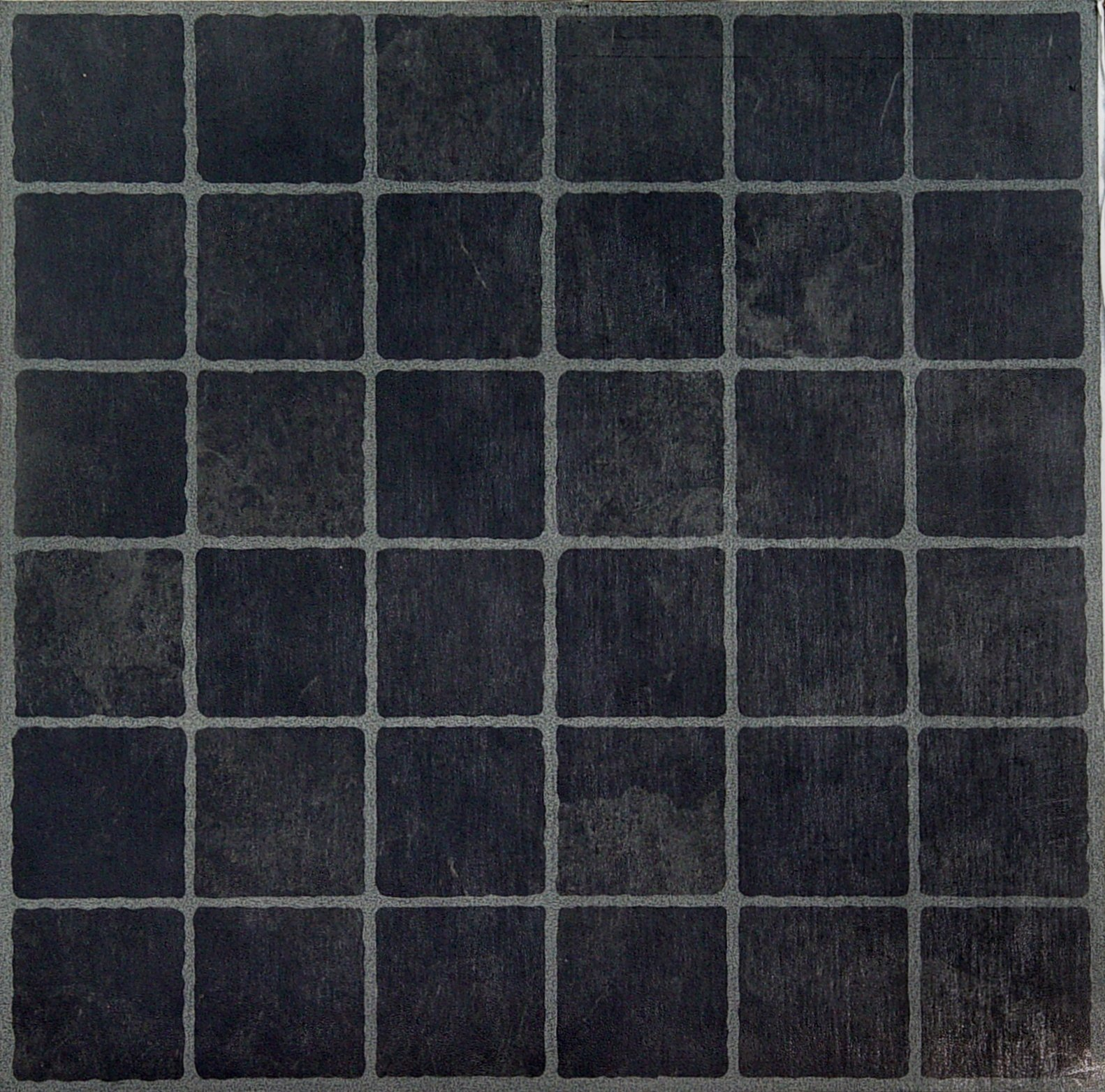 Achim Home Furnishings FTVGM33320 Nexus 12-Inch Vinyl Tile, Geo Dark Slate Checker Board, 20-Pack