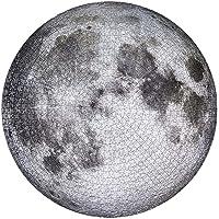 MEXI Rompecabezas Circular de 1000 Piezas, Juguetes educativos para niños, Rompecabezas de la Luna / Tierra / Australia / Europa para niños Adultos