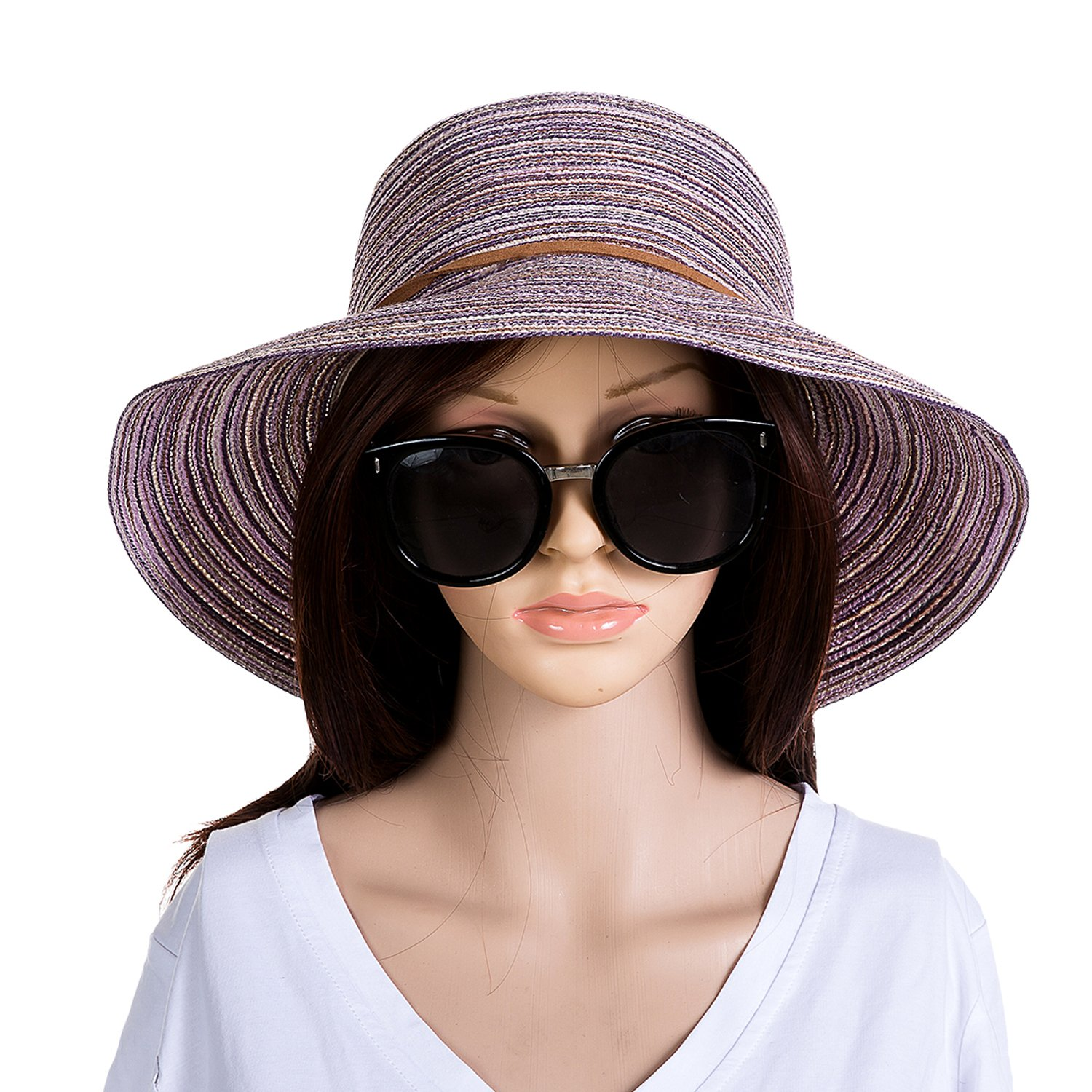 a2382ec4 Womens Foldable Summer Straw Hat Wide Brim Sun Beach hat. It is very  important for girls/ladies/women to protect themselves from direct strong  sunshine.