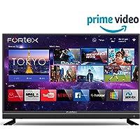 Fortex 109 cm (43 inches) 4K Ultra HD Smart LED TV FX43IPRO01 (Black) (2019 Model)