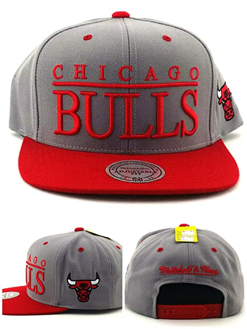Image Unavailable. Image not available for. Color  Chicago Bulls TOP SHELF  Gray Red SNAPBACK Mitchell   Ness NBA Hat 5a73491cdf51