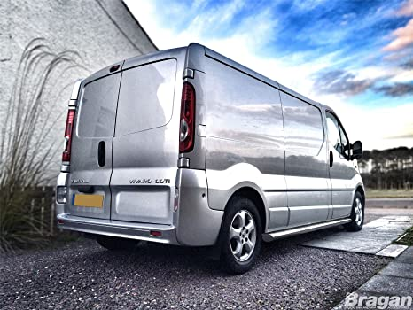 02- 14 Renault Trafic SWB Side Bars Steps Tubes Running Boards S/S Van Accessory: Amazon.es: Coche y moto