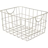 Spectrum Diversified 08477 Utility Basket, Satin Nickel