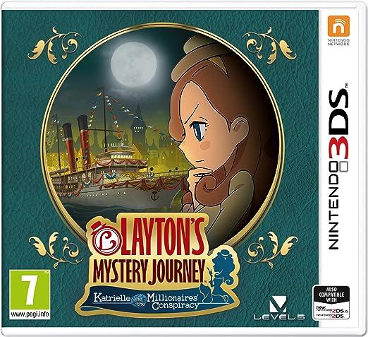 Laytons Mystery Journey: Katrielle and the Millionaires Conspiracy - Nintendo 3DS [Importación inglesa]: Amazon.es: Videojuegos