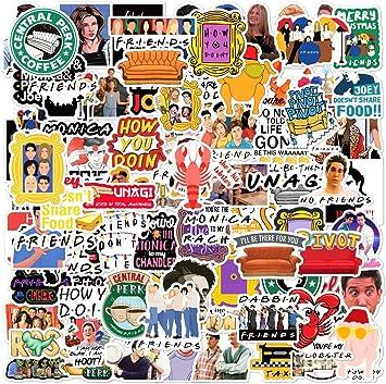 102pcs Friends TV Show Merchandise Fans Stickers
