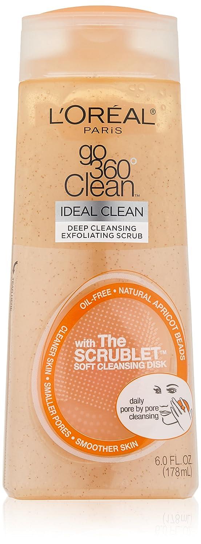 L'Oreal Paris Go 360 Clean, Deep Cleansing Exfoliating Facial Scrub, 6.0 Ounce L' Oreal Paris Skin Care L' OREAL449355