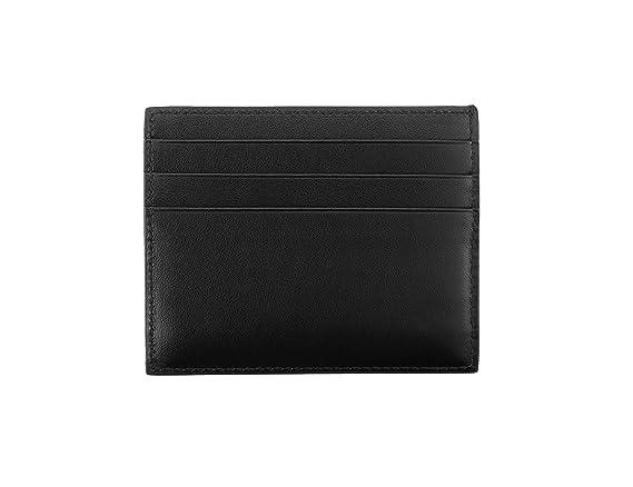 2c0e2b22a0c539 Prada Vitello Calfskin Leather Card Case, Black (Nero) 2MC223 at Amazon  Men's Clothing store: