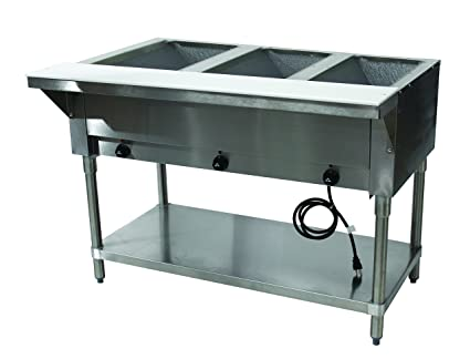 Amazoncom Advance Tabco HFEX Electric Hot Food Table - Electric hot food table