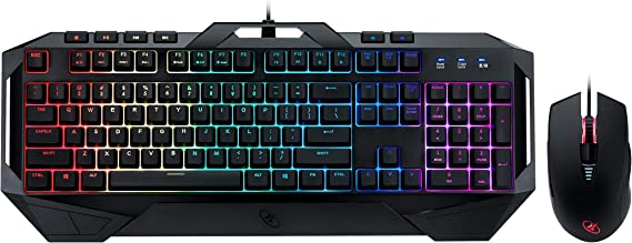 ROSEWILL Gaming RGB Keyboard and Mouse Combo