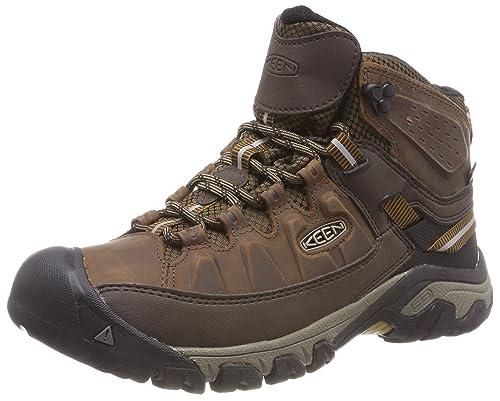 KEEN Mens Targhee Iii Waterproof Low Rise Hiking Shoes