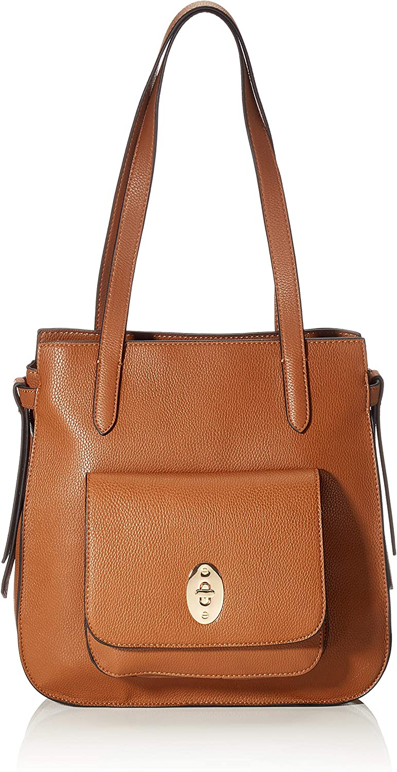 TOM TAILOR Damen Taschen & Geldbörsen Shopper Krystal cognac/brandy -