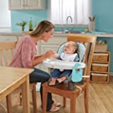 Fisher-Price SpaceSaver High Chair, Teal Tempo