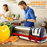 PriorityChef Knife Sharpener for Straight and