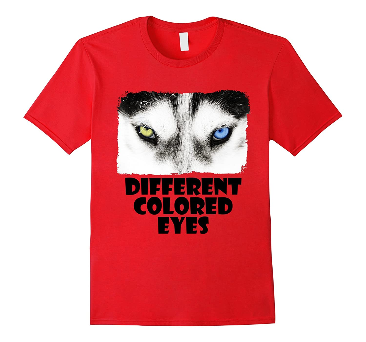 Different Colored Eyes Day T-Shirt-Vaci