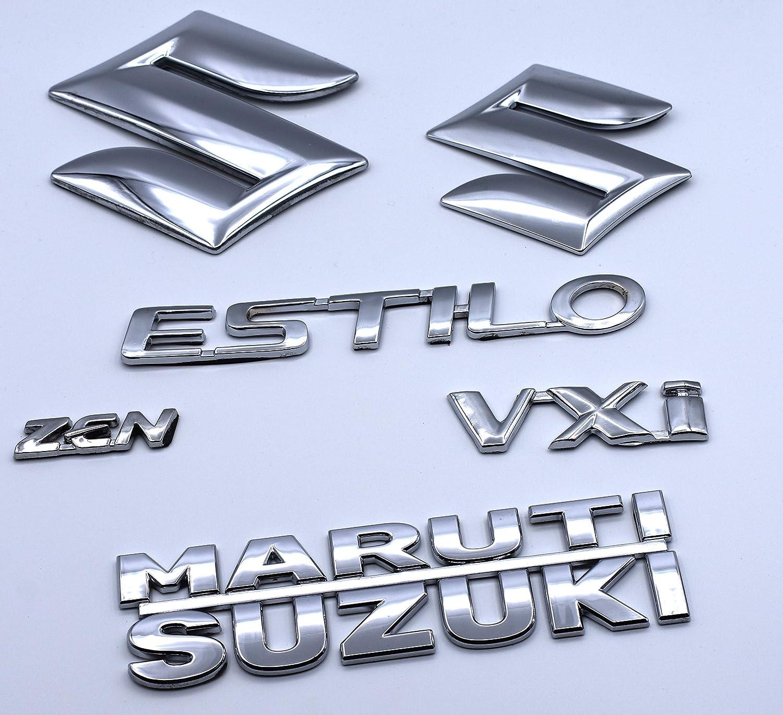 Car Back Door Stickers Zen Estilo Vxi