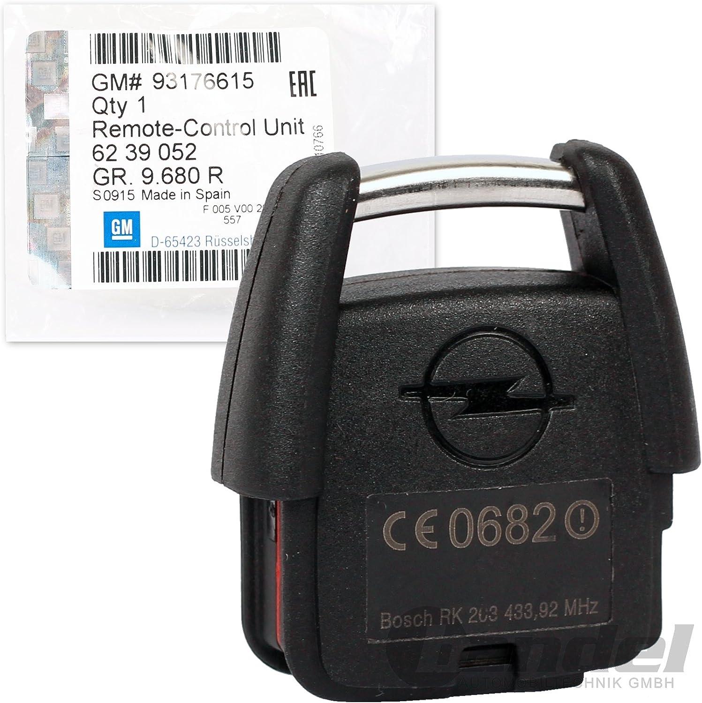 Original Opel Sender Fernbedienung Schlüssel Platine Astra G Zafira A 6239052 93176615 Auto