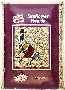 Valley Farms Sunflower Hearts Wild Bird Food - 15 lbs