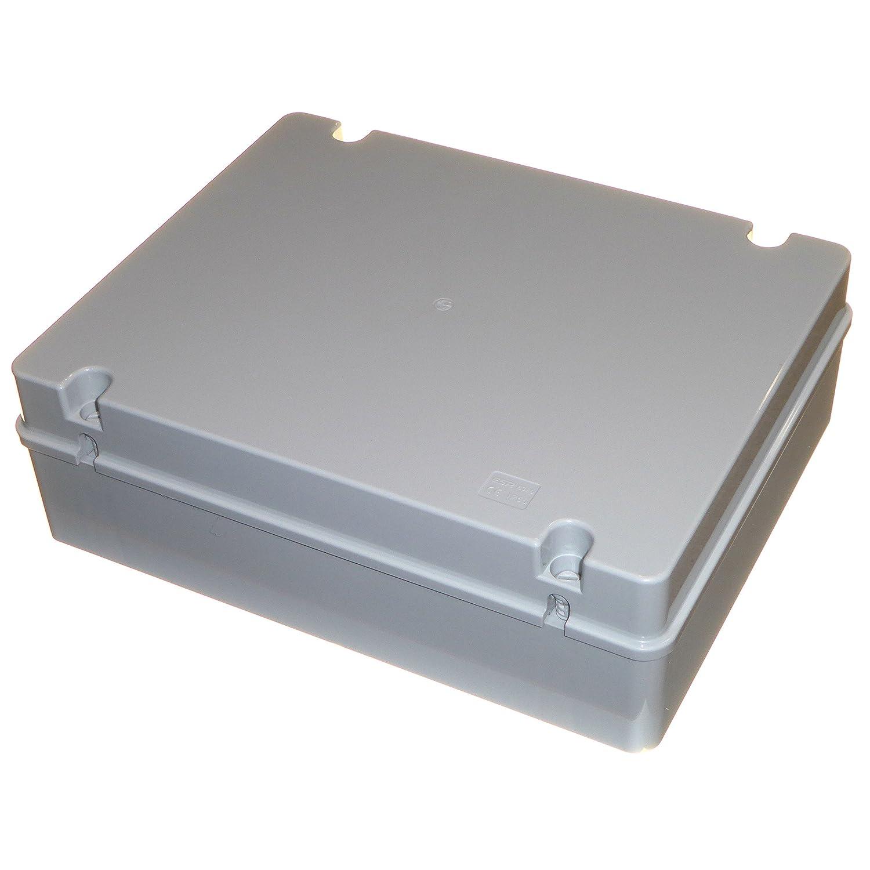 380 mm x 300 mm x 120 mm grande caja de derivació n IP56 Resistente a la intemperie caja impermeable con Plain lados ESR