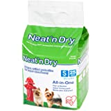 "IRIS Neat 'n Dry Premium Pet Training Pads, Small, 17.5"" x 17.5"