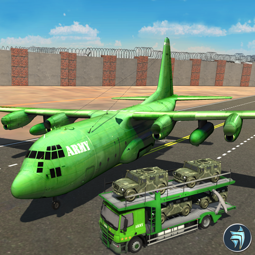 (US Army Border Wall Plane Transport Army Games)