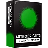 """Astrobrights Mega Collection, Colored Cardstock, Ultra Green, 320 Sheets, 65 lb/176 gsm, 8.5"""" x 11"""" - MORE SHEETS…"""