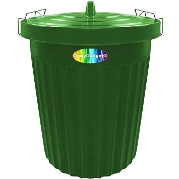 100 litres crazygadget ® 100L Grande poubelle de jardin en plastique ...