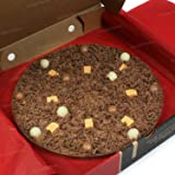 The Gourmet Chocolate Pizza 7 Inch Crunchy Munchy Chocolate