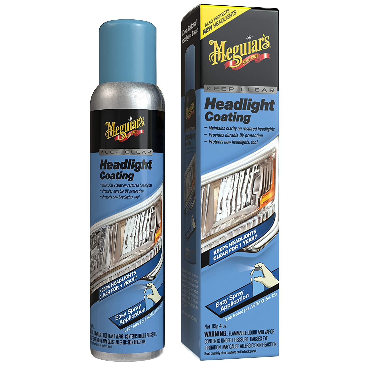 Meguiar's G1900K Headlight and Clear Plastic Restoration Kit Meguiar' s