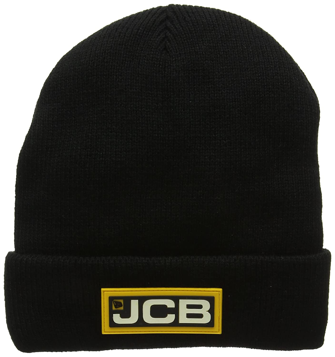 JCB Men's Stone Knitted Beanie Hat