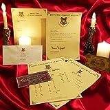 Personalised Hogwarts Acceptance Letter Harry Potter