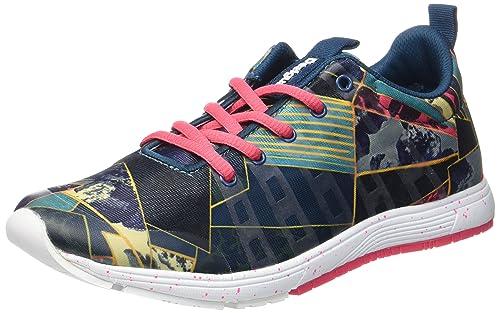 Desigual Training SHO, 40, 5188 Legion Blue, Zapatillas Deportivas para Interior para Mujer, Azul EU: Amazon.es: Zapatos y complementos