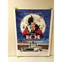 $24 » Walt disney 101 Dalmatians Movie Poster 27x40 One Sheet Rare 1996 Double Sided