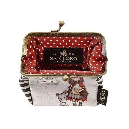 Portamonedas Gorjuss con Cierre de Clip - Little Red Riding Hood: Amazon.es: Equipaje
