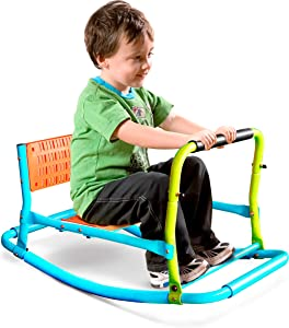 Prure Global Brands Pure Fun Single Rocker Kids Seesaw, Indoor or Outdoor