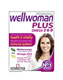 Vitabiotics Wellwoman Plus Omega 3∙6∙9 - 56 Tablets/Capsules