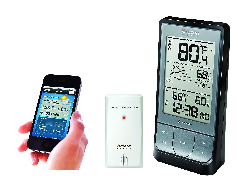 amazon com oregon scientific bar218hg weatherathome wireless