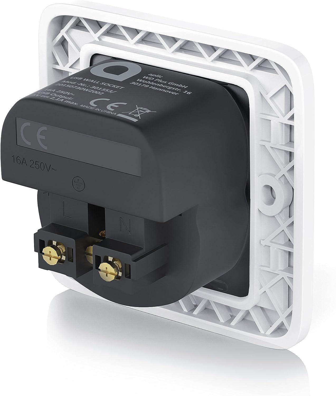 Enchufe para la pared con 1 x puerto USB