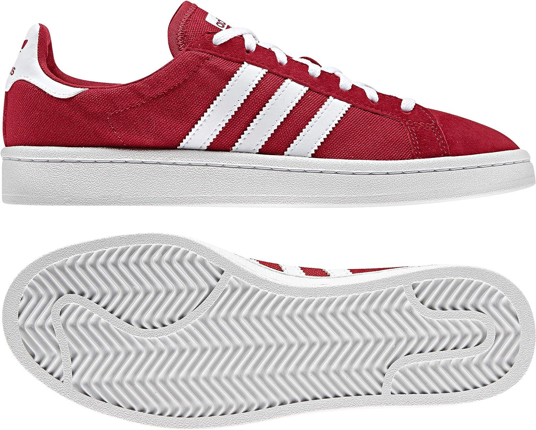 adidas Damen Sneaker Originals Campus Sneaker Damen Rot D96564 rot 679105