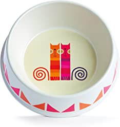 White Dishes, Feeders & Fountains Original Dylan Kendall Ceramic Cat Or Dog Bowl Large