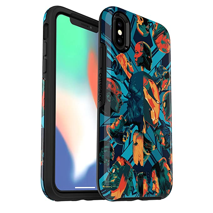 finest selection a27dc 8c956 OtterBox Symmetry Series Marvel Case for iPhone Xs & iPhone X - Retail  Packaging - Infinity WAR