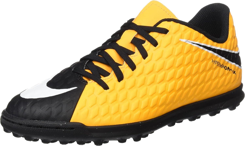 Botas de f/útbol Unisex beb/é Nike Jr Hypervenomx Phade III TF