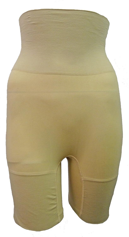 Womens Seamless Control High Waist Shorts Ladies Long Leg Girdle Shapewear:  Amazon.co.uk: Clothing