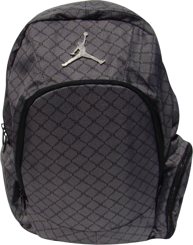 Nike Jordan Graphite Backpack Laptop Sleeve/Protection Audio Pocket