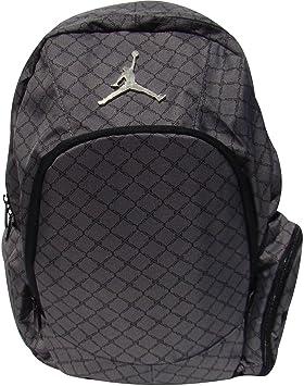 24202ae553d1 Jordan Nike Graphite Backpack Laptop Sleeve protection Audio Pocket ...