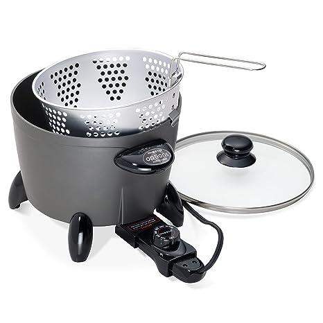 Amazon.com: Presto 06003 Options Electric Multi-Cooker/Steamer ...