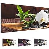 Bilder 100 x 40 cm - Feng Shui Bild - Vlies Leinwand - Kunstdrucke -Wandbild - XXL Format - mehrere Farben und Größen im Shop - Fertig Aufgespannt !!! 100% MADE IN GERMANY !!! - 502312a