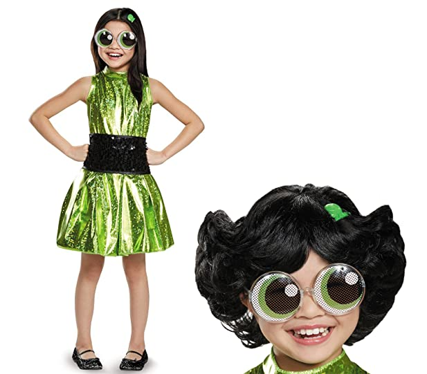 birthday express powerpuff girls buttercup deluxe child costume bundle set small