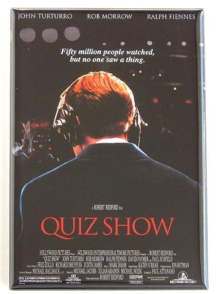 Amazon com: Quiz Show Movie Poster Fridge Magnet (2 x 3